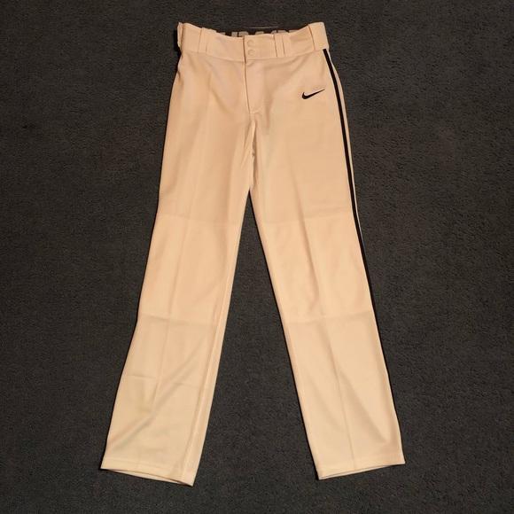 b3c9f95e9 Nike Bottoms | Nwt Boys Swoosh Piped Drifit Baseball Pants | Poshmark